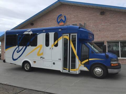 2015 Chevrolet Passenger Bus for sale at Western Specialty Vehicle Sales in Braidwood IL