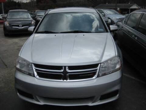 2012 Dodge Avenger for sale at LAKE CITY AUTO SALES in Forest Park GA