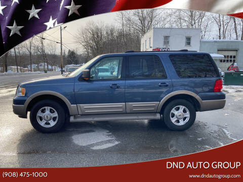 2003 Ford Expedition for sale at DND AUTO GROUP in Belvidere NJ