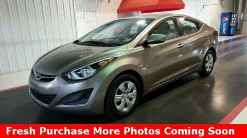2016 Hyundai Elantra for sale at Nyhus Family Sales in Perham MN