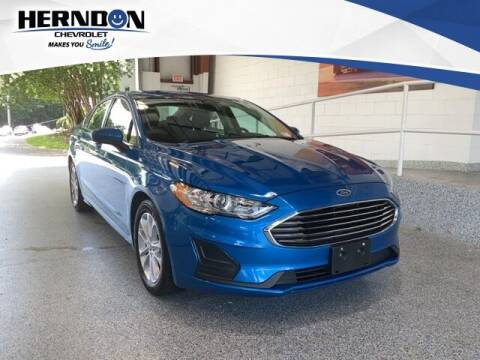 2020 Ford Fusion for sale at Herndon Chevrolet in Lexington SC