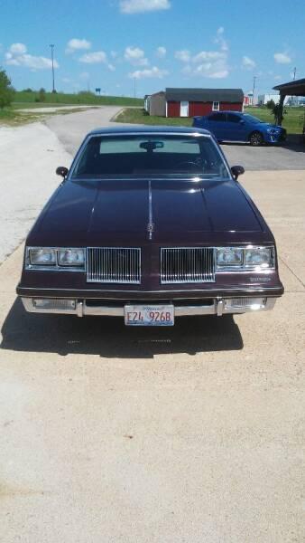 1986 Oldsmobile Cutlass Supreme for sale at Gary Miller's Classic Auto in El Paso IL