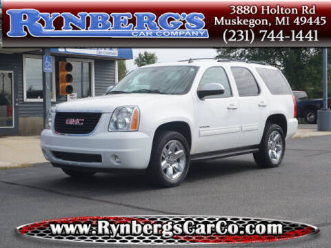 2014 GMC Yukon for sale at Rynbergs Car Co in Muskegon MI
