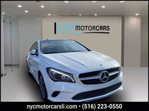 2018 Mercedes-Benz CLA for sale at NYC Motorcars in Freeport NY