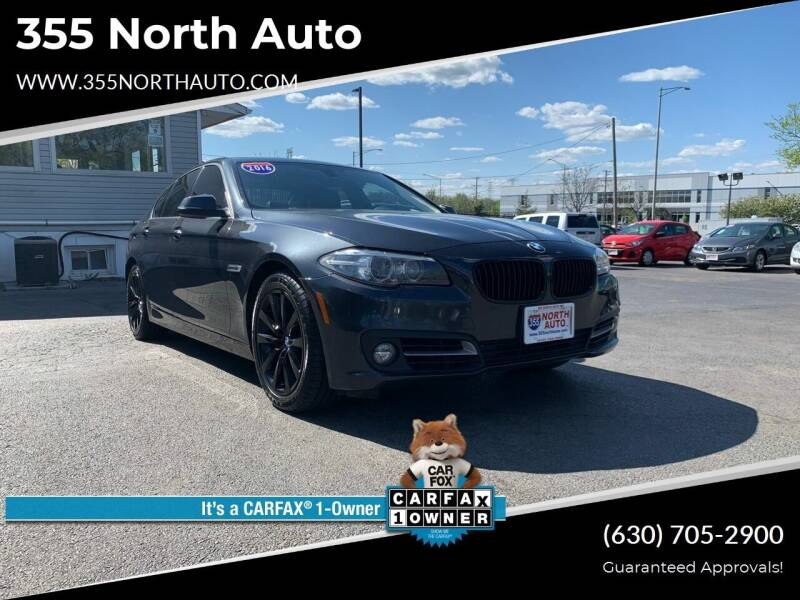 2016 BMW 5 Series for sale at 355 North Auto in Lombard IL