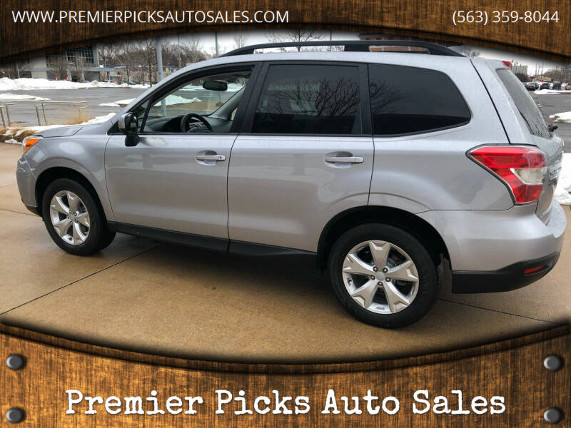 2016 Subaru Forester for sale at Premier Picks Auto Sales in Bettendorf IA