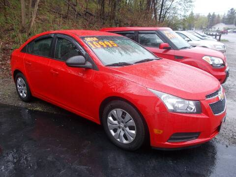 2014 Chevrolet Cruze for sale at Dansville Radiator in Dansville NY