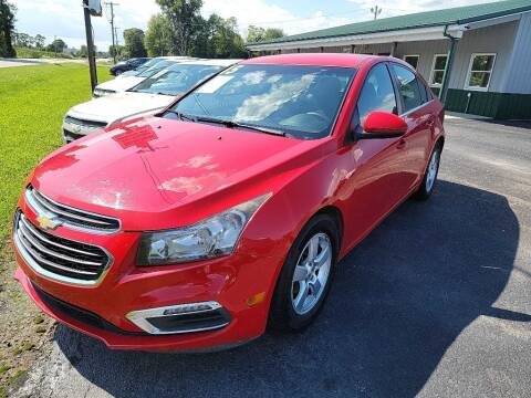 2015 Chevrolet Cruze for sale at Pack's Peak Auto in Hillsboro OH