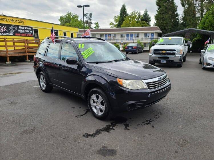 2011 Subaru Forester for sale at SWIFT AUTO SALES INC in Salem OR