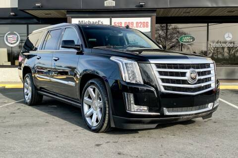 2015 Cadillac Escalade ESV for sale at Michaels Auto Plaza in East Greenbush NY