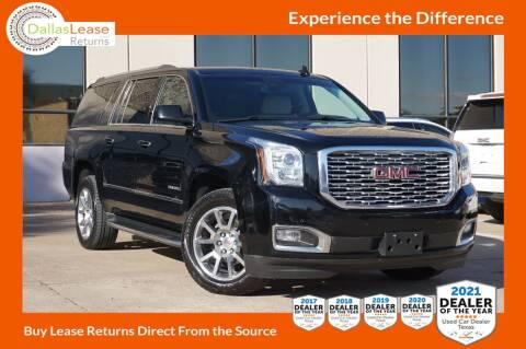 2018 GMC Yukon XL for sale at Dallas Auto Finance in Dallas TX