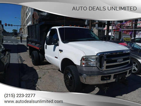 2005 Ford F-350 Super Duty for sale at AUTO DEALS UNLIMITED in Philadelphia PA