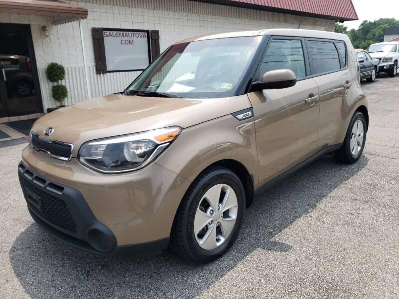 2015 Kia Soul for sale at Salem Auto Sales in Salem VA