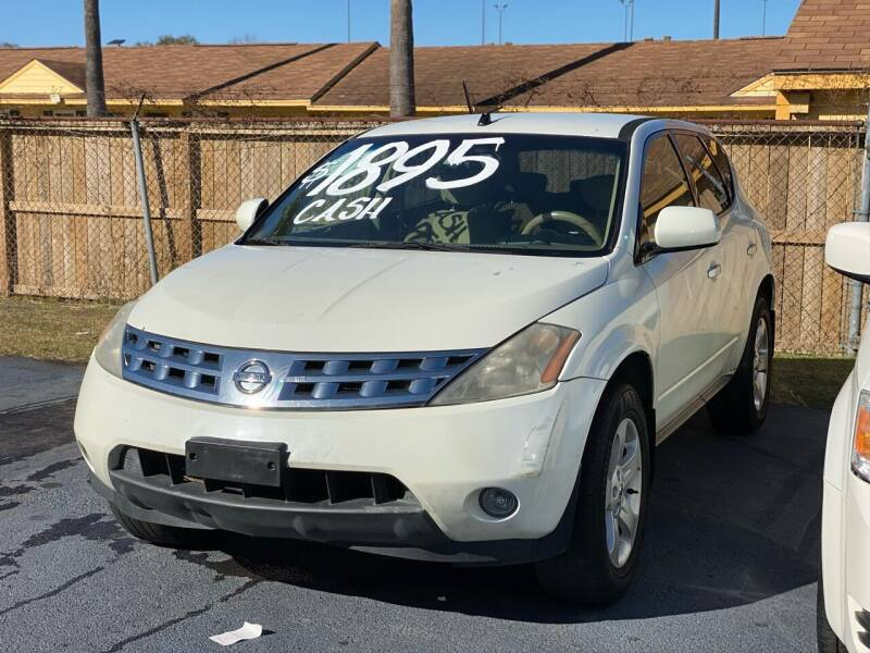 2004 Nissan Murano for sale at ASTRO MOTORS in Houston TX