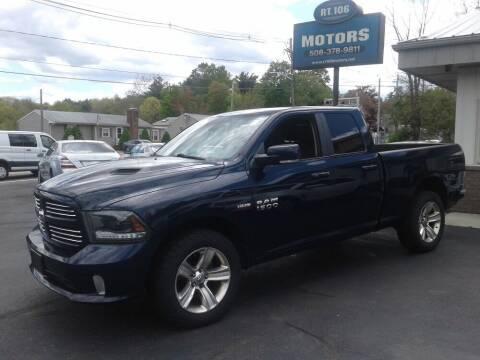 2015 RAM Ram Pickup 1500 for sale at Route 106 Motors in East Bridgewater MA