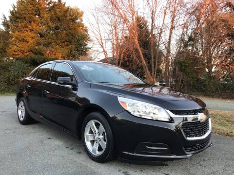 2015 Chevrolet Malibu for sale at Pristine AutoPlex in Burlington NC