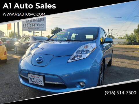 2013 Nissan LEAF for sale at A1 Auto Sales in Sacramento CA