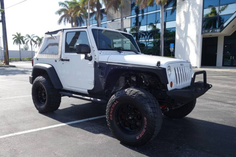 2007 Jeep Wrangler for sale at SR Motorsport in Pompano Beach FL