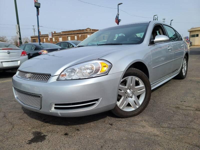 2012 Chevrolet Impala for sale at Rite Track Auto Sales in Detroit MI