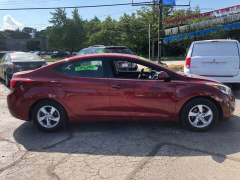 2014 Hyundai Elantra for sale at County Car Credit in Cleveland OH
