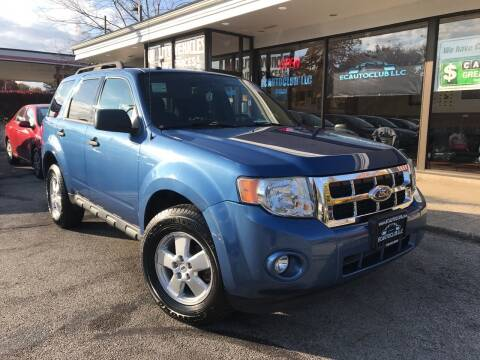 2010 Ford Escape for sale at ECAUTOCLUB LLC in Kent OH