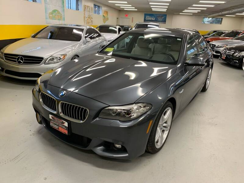2015 BMW 5 Series for sale at Newton Automotive and Sales in Newton MA