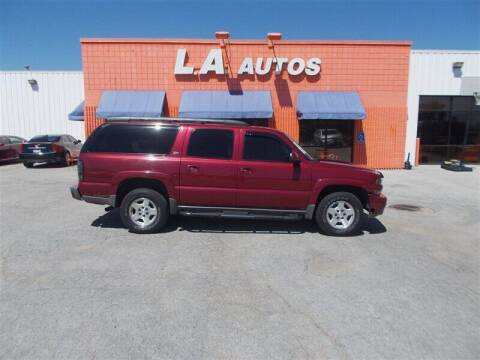 2004 Chevrolet Suburban for sale at L A AUTOS in Omaha NE