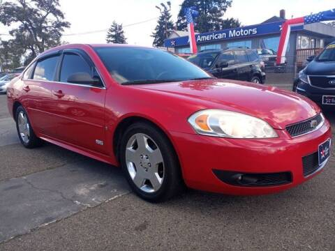 2009 Chevrolet Impala for sale at All American Motors in Tacoma WA
