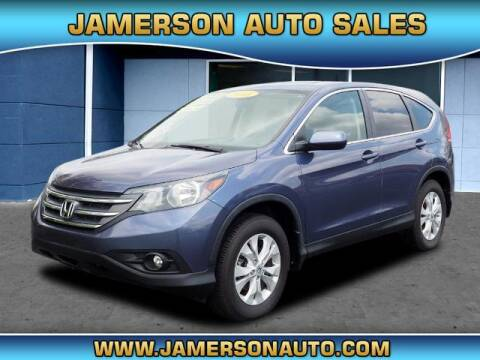 2013 Honda CR-V for sale at Jamerson Auto Sales in Anderson IN