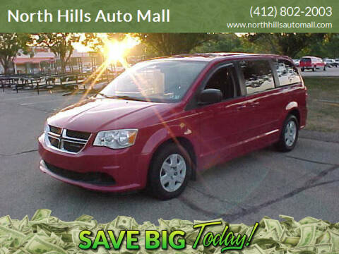 2012 Dodge Grand Caravan for sale at North Hills Auto Mall in Pittsburgh PA