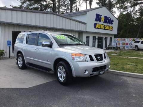 2008 Nissan Armada for sale at Bi Rite Auto Sales in Seaford DE