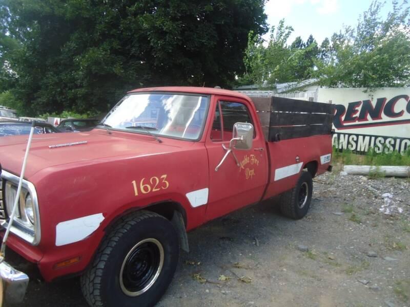 1977 Dodge D250 Pickup for sale at Marshall Motors Classics in Jackson MI