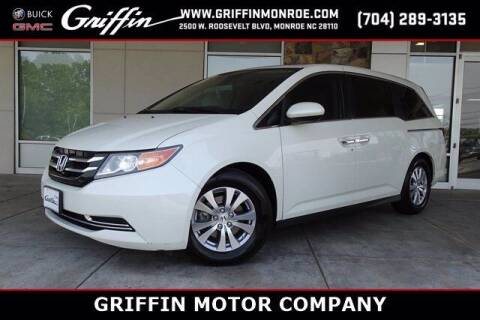 2015 Honda Odyssey for sale at Griffin Buick GMC in Monroe NC