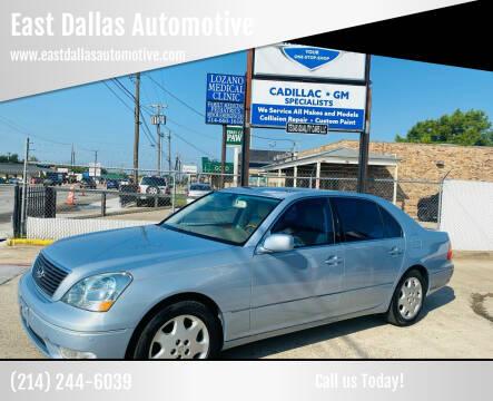 2003 Lexus LS 430 for sale at East Dallas Automotive in Dallas TX