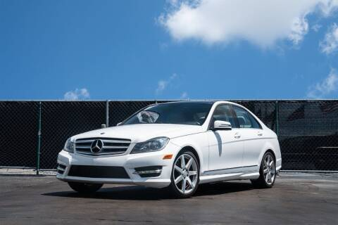 2013 Mercedes-Benz C-Class for sale at MATRIX AUTO SALES INC in Miami FL