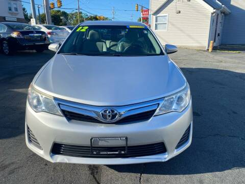 2012 Toyota Camry for sale at Better Auto in South Darthmouth MA