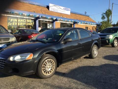 2004 Chrysler Sebring for sale at Duke Automotive Group in Cincinnati OH