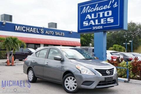 2016 Nissan Versa for sale at Michael's Auto Sales Corp in Hollywood FL
