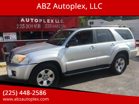 2006 Toyota 4Runner for sale at ABZ Autoplex, LLC in Baton Rouge LA