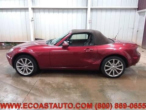 2008 Mazda MX-5 Miata for sale at East Coast Auto Source Inc. in Bedford VA