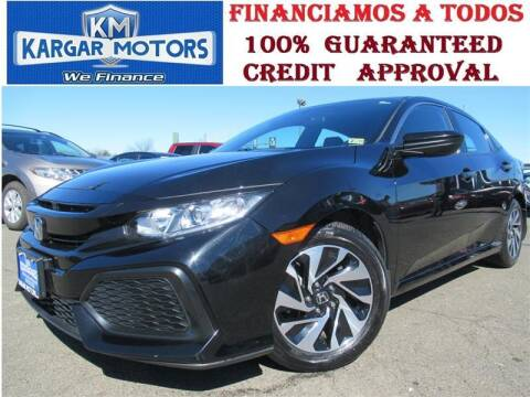 2018 Honda Civic for sale at Kargar Motors of Manassas in Manassas VA