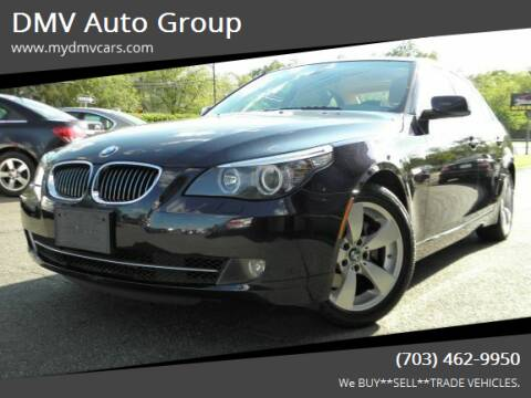 2008 BMW 5 Series for sale at DMV Auto Group in Falls Church VA