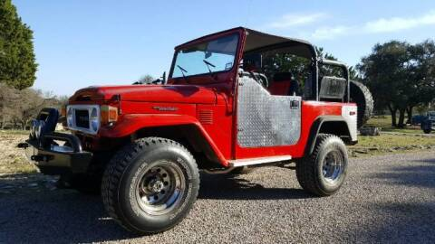 1981 Toyota Land Cruiser for sale at Classic Car Deals in Cadillac MI