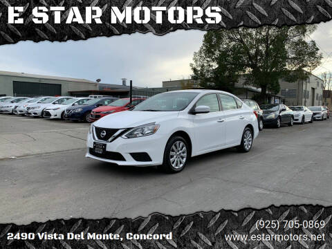 2017 Nissan Sentra for sale at E STAR MOTORS in Concord CA
