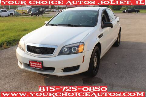2016 Chevrolet Caprice for sale at Your Choice Autos - Joliet in Joliet IL