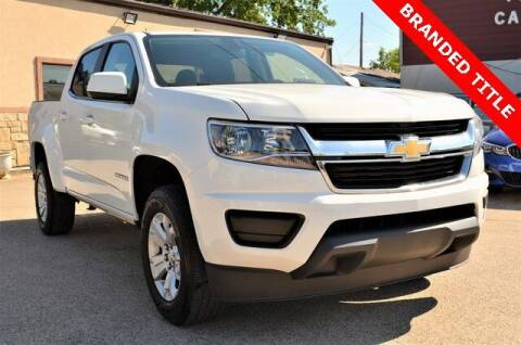 2019 Chevrolet Colorado for sale at LAKESIDE MOTORS, INC. in Sachse TX