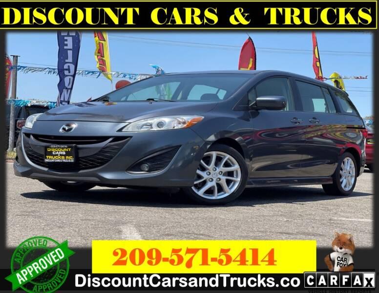 2012 Mazda MAZDA5 for sale at Discount Cars & Trucks in Modesto CA
