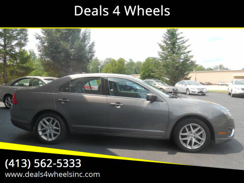 2012 Ford Fusion for sale at Deals 4 Wheels in Westfield MA