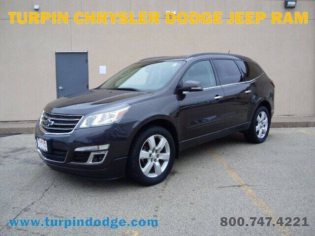 2017 Chevrolet Traverse for sale at Turpin Dodge Chrysler Jeep Ram in Dubuque IA