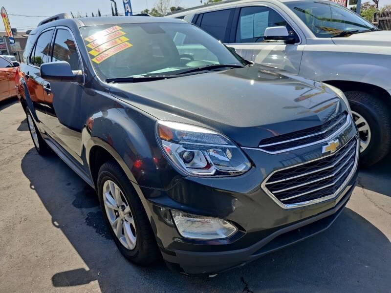 2017 Chevrolet Equinox for sale at Rey's Auto Sales in Stockton CA